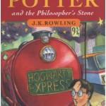 Portada inglesa de Harry Potter y la piedra filosofal