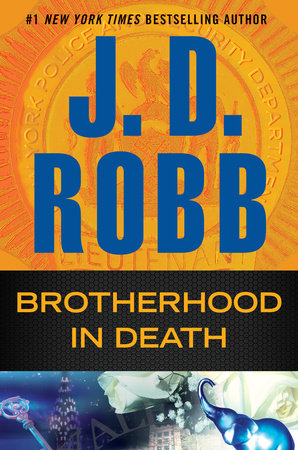 Portada de Brotherhood in Death, de JD Robb