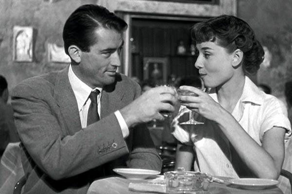 Roma Audrey Hepburn Gregory Peck